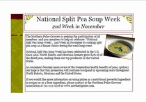 National Split Pea Soup Week